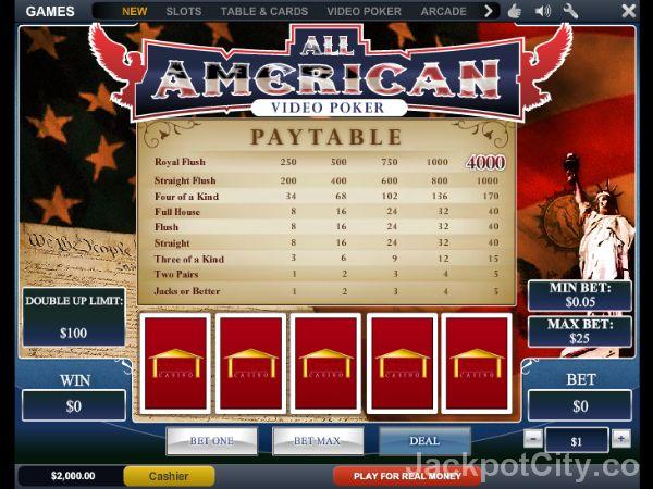 103 free to play Video Poker games >> jackpotcity.co/free-video-poker.aspx
