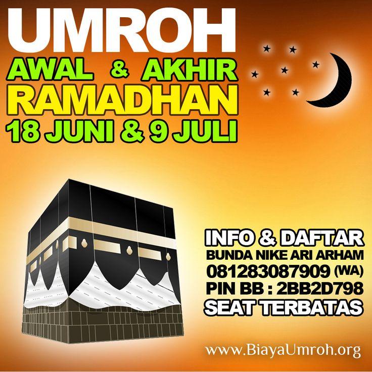 #umrohRamadhan 2015 awal dan akhir ramadhan di tanah suci  http://biayaumroh.org