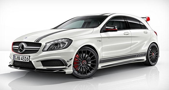 2013 Mercedes A45 AMG Three Models: Already thinking of CLS 63, CLA 45 AMG Shooting Brake?
