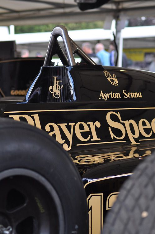 John Player Special  Lotus  Senna