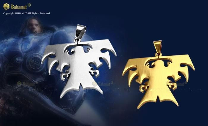 Free Shipping - Starcraft II 2 SC2 Terran Necklace/Pendants/Badge -Titanium $15.00