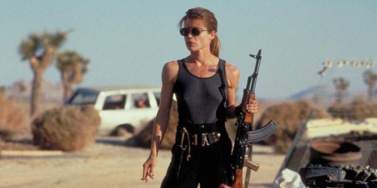 La comédienne Linda Hamilton est confirmée au casting de Terminator 6 de Tom Miller et James Cameron aux côtés d'Arnold Schwarzenegger.