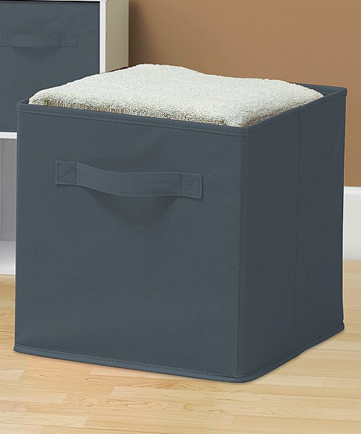 Another great find on #zulily! Gray Collapsible Storage Cube - Set of Six by Sorbus #zulilyfinds