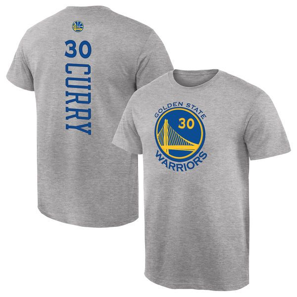 Stephen Curry Golden State Warriors Fanatics Branded Backer Name & Number T-Shirt - Gray - $27.99