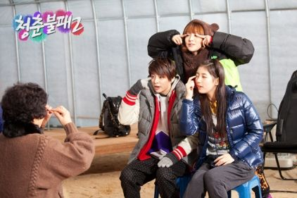 [120206] Invincible Youth 2 official website update photo with Amber [2p] | f(x) Indonesia