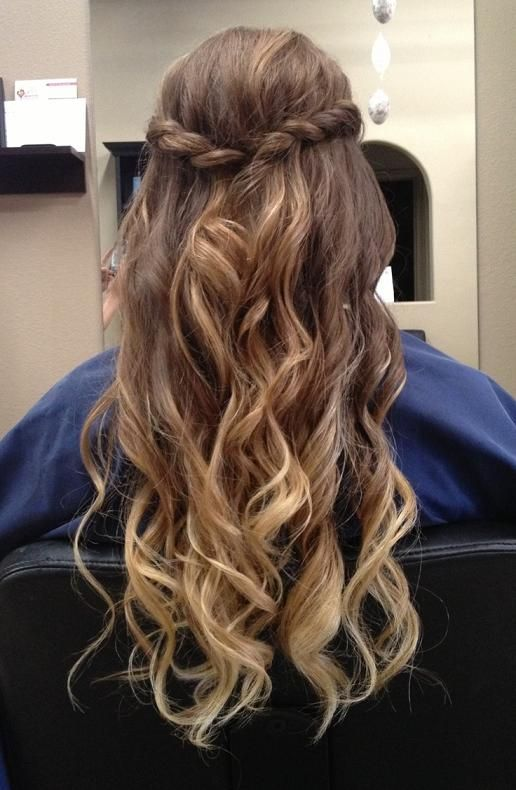 12 best Curly Hairstyles images on Pinterest | Beleza, Hair dos ...