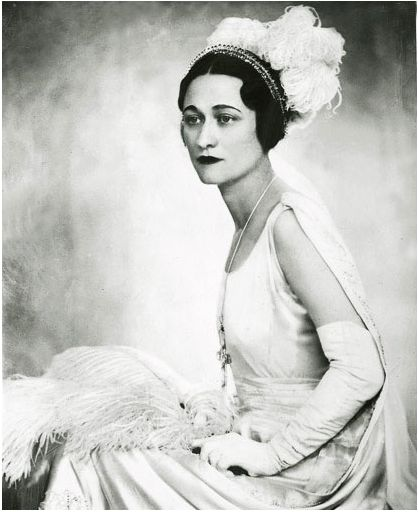 The Duchess of Windsor; Mrs Wallace Simpson: English royalty from Baltimore, MD.