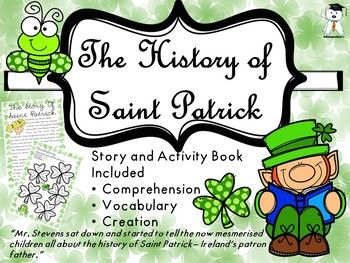 Check out  the blog post with everything you need to know about this resource. I decided to continue the series with Curious Sally with a St. Patricks Day story.If you are interested in the others, here they are: Halloween Story ,  Thanksgiving Story, A Fall Story, and   the history of Valentine's Day  All the packs include a 3 pg.