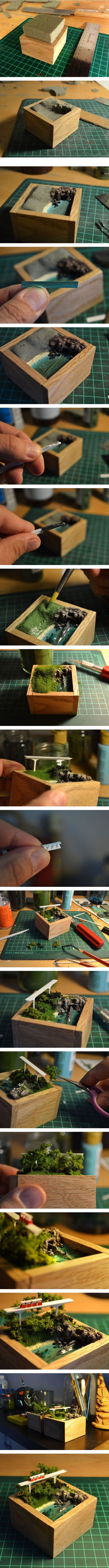 58 best makett images on Pinterest | Miniatures, Model building and ...