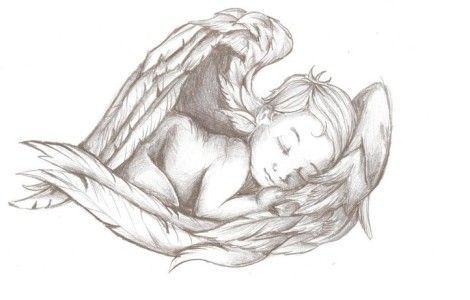 child angel tattoo drawings | Nail Artwork Tattoo. See even more at the photo