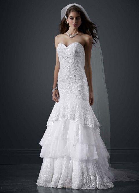 97 best beaded wedding gowns images on pinterest short for Used short wedding dresses