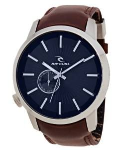 This stylish watch the Ripcurl Detroit Leather with a Navy face is great casual watch for any occasion
