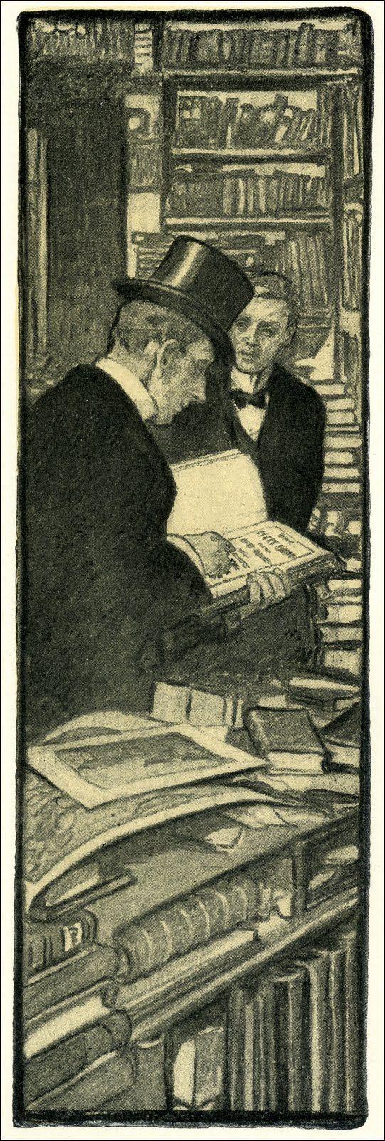 Elizabeth Shippen Green 1903 illustration from Harper's Monthly