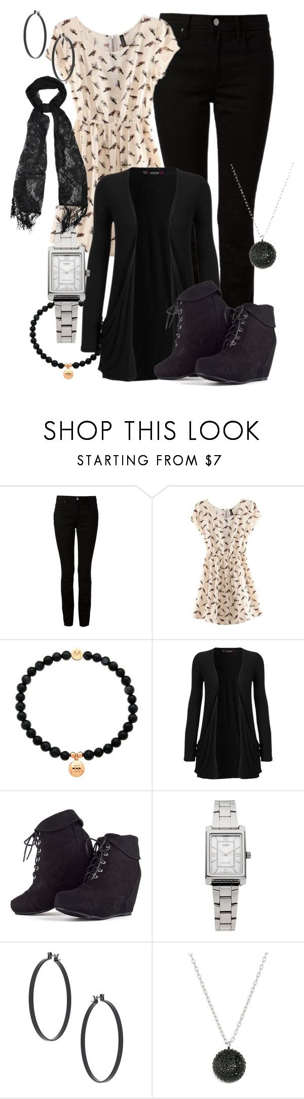 """""""set 12"""" by bebe6121985 on Polyvore featuring moda, Alexander Wang, Melissa Odabash, WearAll, Casio, Topshop, Marc by Marc Jacobs i Avenue"""