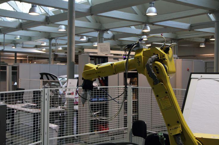 A robot at Technobothnia. Photographer: Markku Kuusinen
