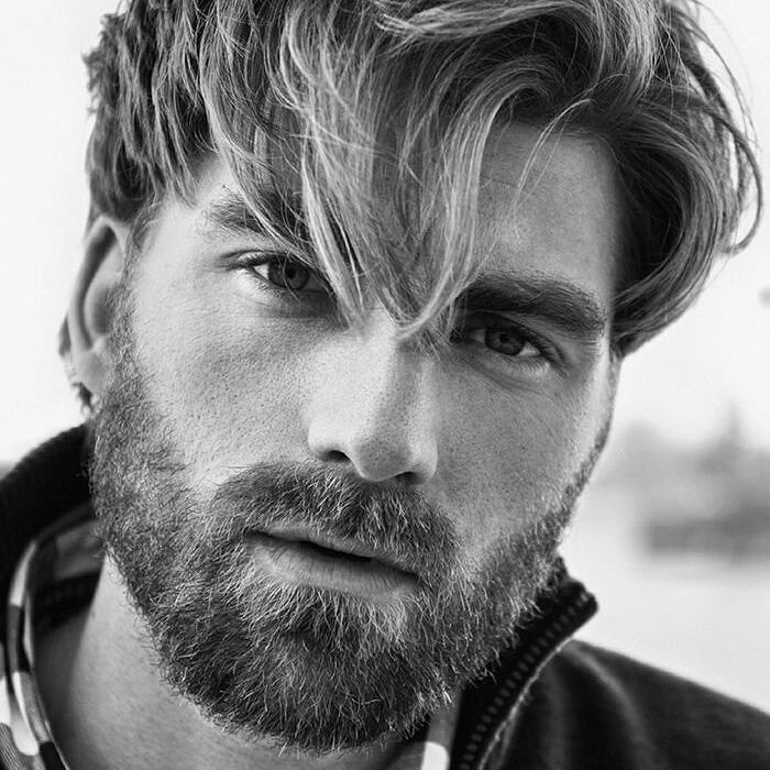 cool hair and beard styles cool 55 lovely beard styles chose the new style 9333