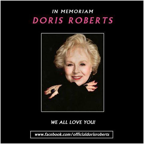 Actress Doris Roberts a.k.a. Marie Barone of sitcom 'Everybody Loves Raymond' dies at 90 - http://www.sportsrageous.com/entertainment/actress-doris-roberts-a-k-a-marie-barone-of-sitcom-everybody-loves-raymond-dies-at-90/17757/