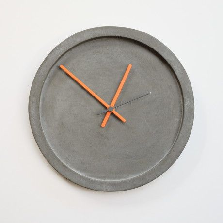 Trouva: Wild Wood Concrete Wall Clock