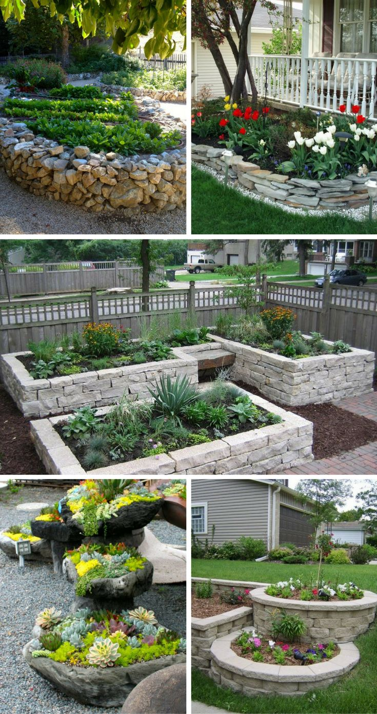 Best 10 Rock flower beds ideas on Pinterest Landscape stone