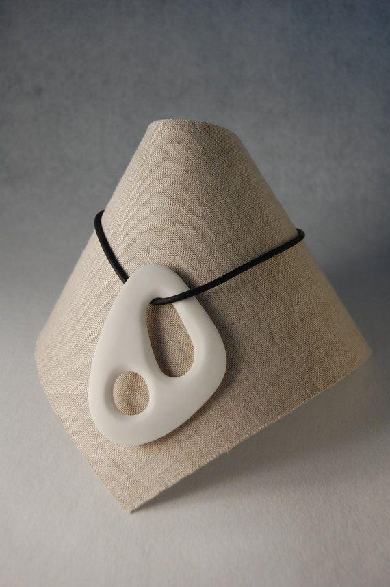 White Porcelain Necklace