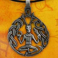 Amulet Cernunnos - keltský bůh lesa, léčení