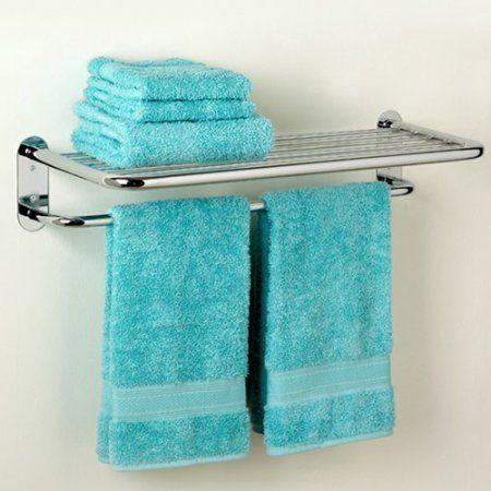 Zenith Hotel Towel Shelf, Chrome - Walmart.com