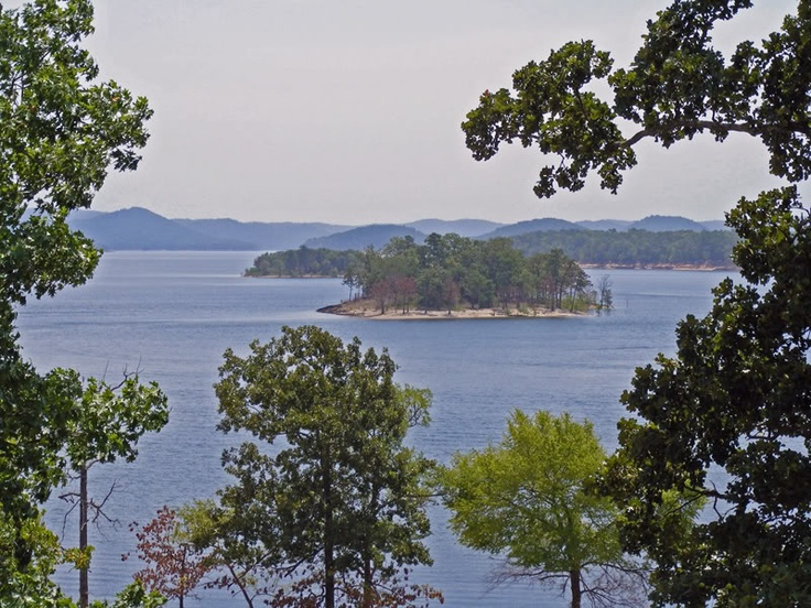 Broken Bow Lake in southeast Oklahoma offers spectacular scenery and excellent fishing.