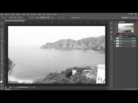 Photoshop Cs6 Desce Cero 6- Modos Del Color - YouTube