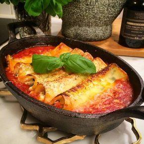 Cannelloni med grym tomatsås