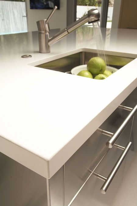 Kitchen countertop material options wow blog Types of countertops material