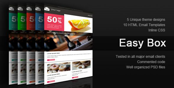 OpenMail  OpenMail is professional multi-usage email template - professional email template
