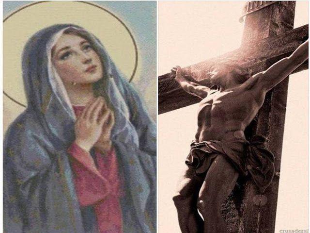 """JEZUS en MARIA Groep.: DE BOOM VAN HET KRUIS..""""Laat uw kruis wortel schieten in de grond van Mijn Smartvol en Onbevlekt Hart,dan krijgt het lentebloesems en zomervruchten.""""Zie toch hoe God alles heeft voorzien als geschenken van volmaakte Liefde. Zodra jullie de kruisen van het dagelijks leven met Liefde en in innige eenheid met Jezus en Mij dragen, brengt jullie boom vruchten voort. Deze vruchten bevatten ook zelf nieuwe zaden, die op hun beurt zielentuinen kunnen bevruchten."""