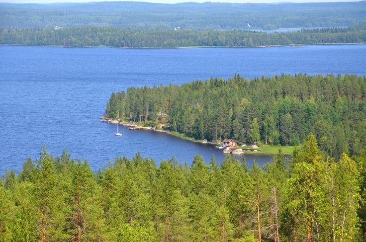 Lake Pielinen in Nurmes
