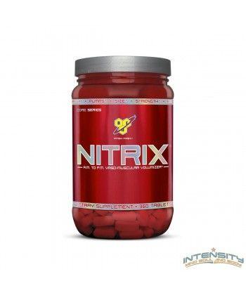 Integratore alimentare di aminoacidi e creatina con vitamine. In compresse. *La Niacina e l'acido Folico contribuiscono alla riduzione di stanchezza ed affaticamento.