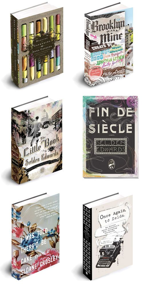 book covers by Brooklyn-based designer and illustrator, Ben Gibson