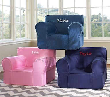 Oversized Anywhere Chair Collection #pbkids @Pottery Barn ...