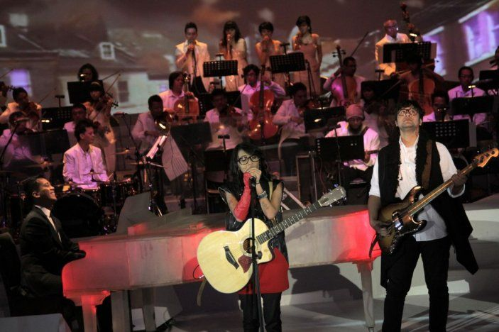 Concert Magentaorcestra Launching Camry at Jakarta, Indonesia  #music #magenta #orchestra #magentaorchestra #musician #jakarta #indonesia