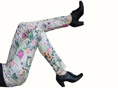 pdf sewing pattern treggings - AnniNanni Treggings - womens trousers at Makerist