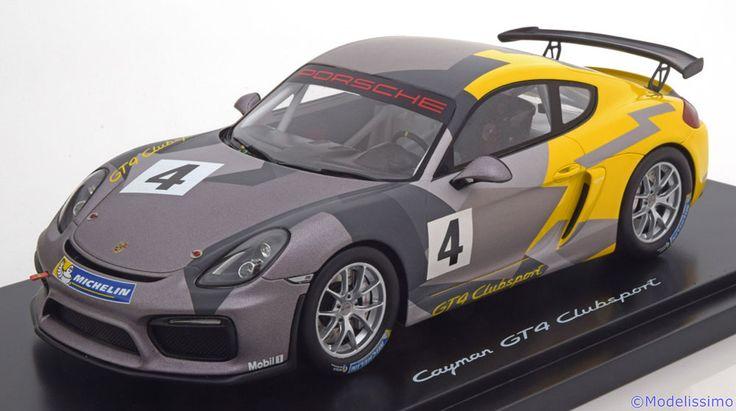 Porsche GT4 Clubsport, 2016, No.4. Spark, 1/18, No.WAP 021 901 0G, Limited Edition 1000 pcs. 320 EUR