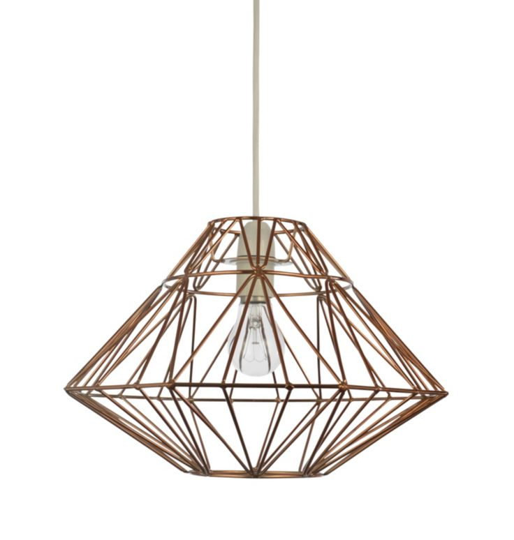 Home lighting 13 pinterest george home metal beaded scalloped pendant light shade mozeypictures Choice Image