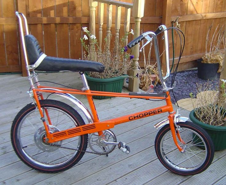 I owned one of these! They were awful! Raleigh Chopper....retro orange chic, on wheels