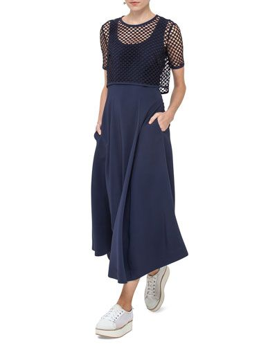 G collection maxi dress overlay