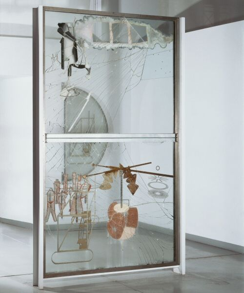 duchamp's the bride stripped bare by her bachelors, even. I think I am working backward too.