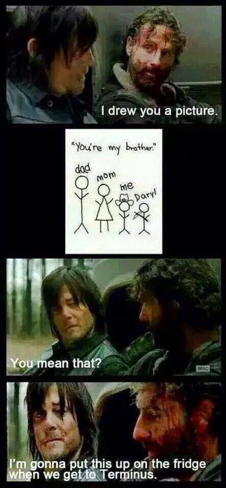 Rick & Daryl Bro-mance