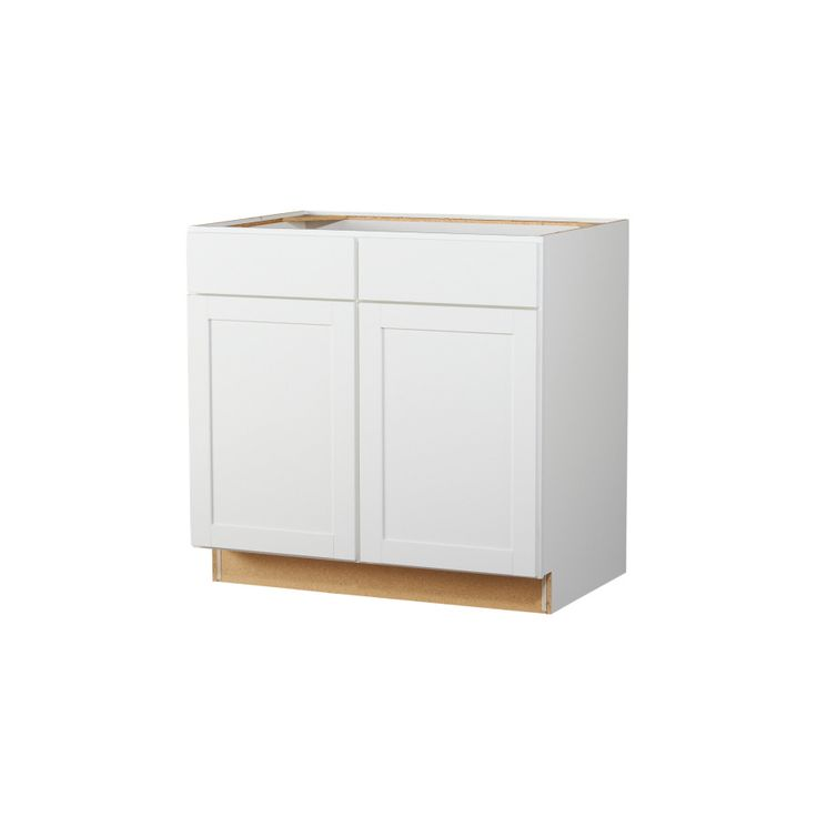 White Kitchen Cabinets Lowes: Studio Storage? Kitchen Classics 35-in H X 36-in W X 23-3