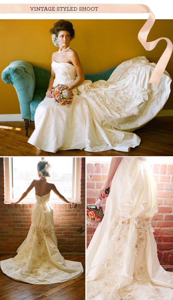 17 best my vintage wedding images on pinterest dream for Vintage wedding dresses austin