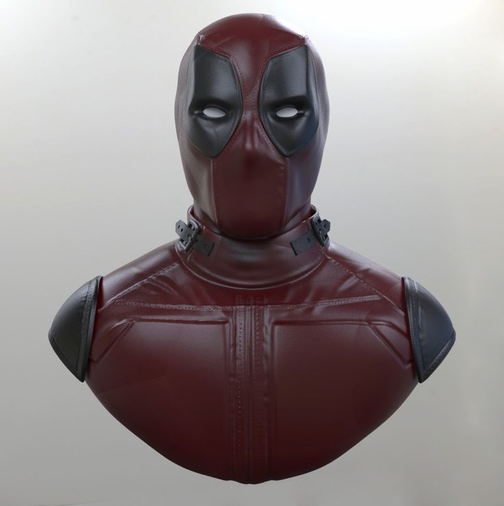 Deadpool Bust WIP, Angel Axiotis on ArtStation at https://www.artstation.com/artwork/rOQV6