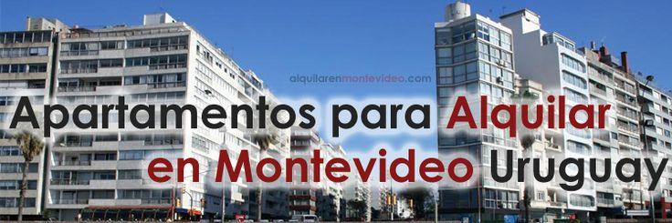 #Alquiler de apartamentos baratos en #Montevideo. Apartamentos para alquilar en Montevideo Uruguay con bajos gastos comunes. Apartamentos en Alquiler.