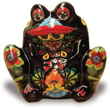 Talavera Bull Frog Pottery Pinterest Frogs