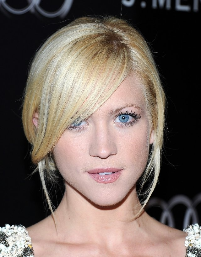 Brittany Snow, platinum blonde highlights